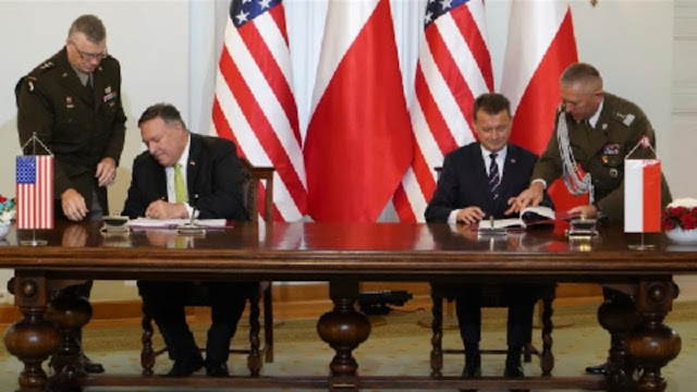 United States has sealed a defence cooperation deal with Poland that will pave the way