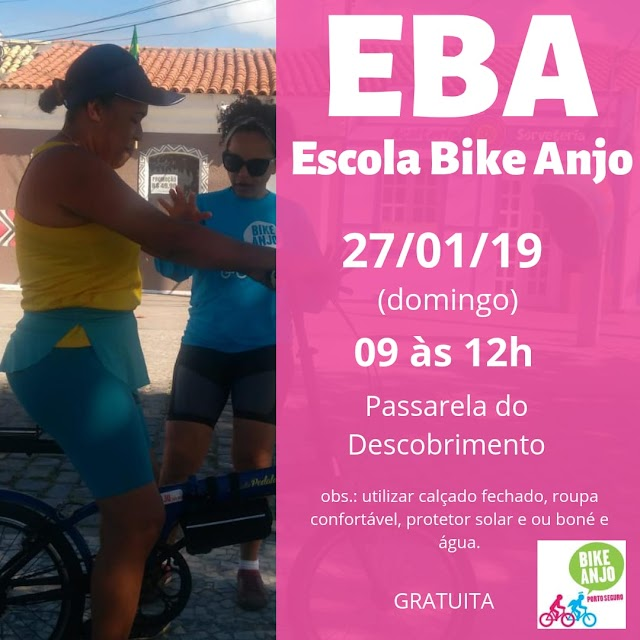 Vem para o EBA (Escola Bike Anjo) em Porto Seguro
