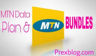 MTN list of data Bundles prexblog.com