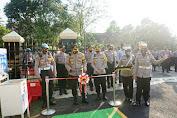 Kapolres Pandeglang Pimpin Peresmian Kawasan Tertib Pejalan Kaki