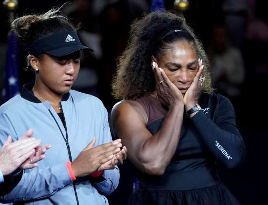 Watch: Naomi Osaka revealed what Serena Williams told her after the U.S. Open
