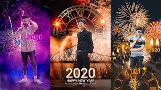 Happy New year background Download for picsart and Photoshop - krediting