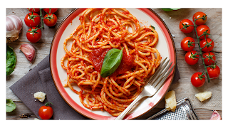 spagetti makanan siap saji yang bisa dibeli secara online