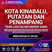Kota Kinabalu, Putatan & Penampang Daerah Berasingan Ketika PKP 3.0