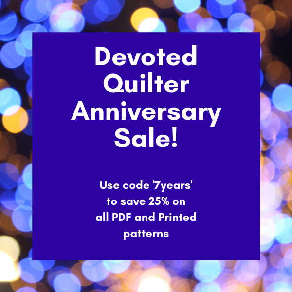 Devoted Quilter pattern sale | DevotedQuilter.com
