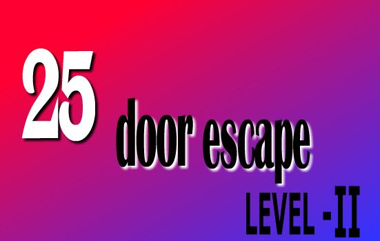 GamesClicker 25 Door Escape 2