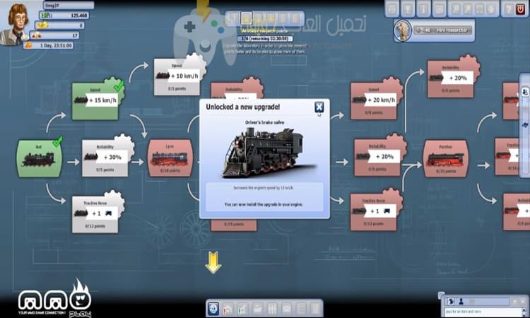 تحميل لعبة السكة الحديدية Rail Nation للكمبيوتر