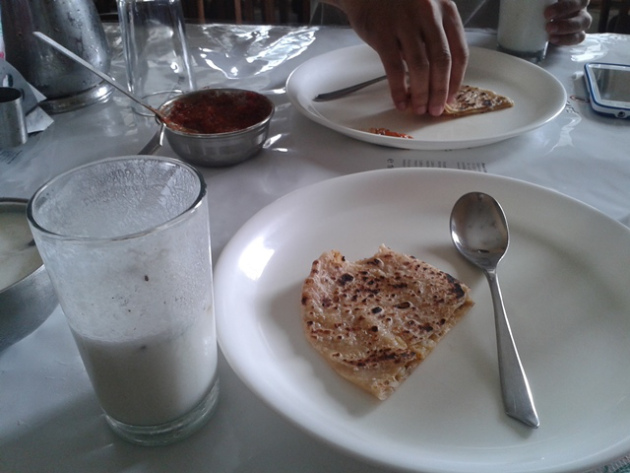lunch in najibabad