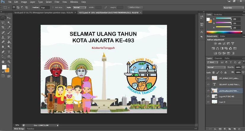fungsi tool  photoshop cs6