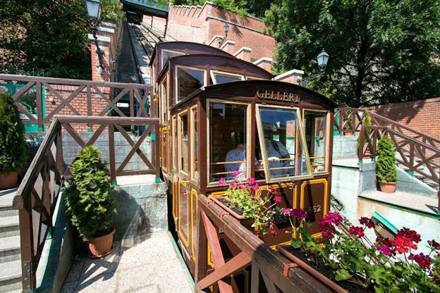 La Siklò-Funicolare di Budapest