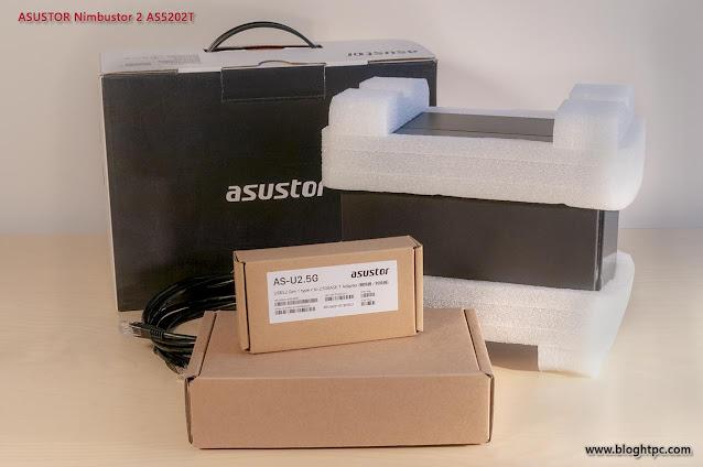 UNBOXING ASUSTOR NIMBUSTOR 2 AS5202T