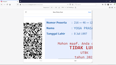 Cara Upload Foto di Instagram lewat PC - Mozilla