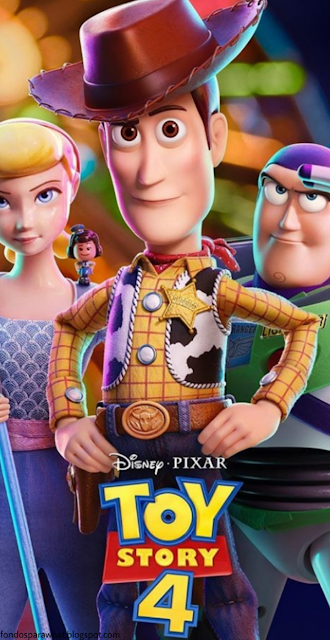 Fondo de Pantalla con los personajes de Toy Story 4 2019
