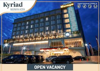 Lowongan Kerja Kyriad Hotel Banda Aceh Terbuka 3 Posisi