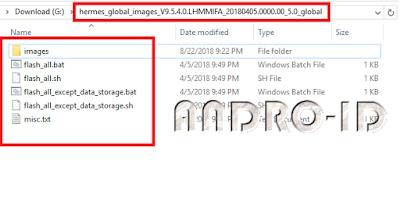 Cara Flashing Redmi Note 5 / Pro  MIUI Global via Fastboot