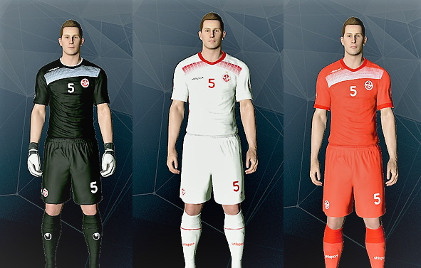 PES 2017 Tunisia CAN 2017 by Kit Maker DZ