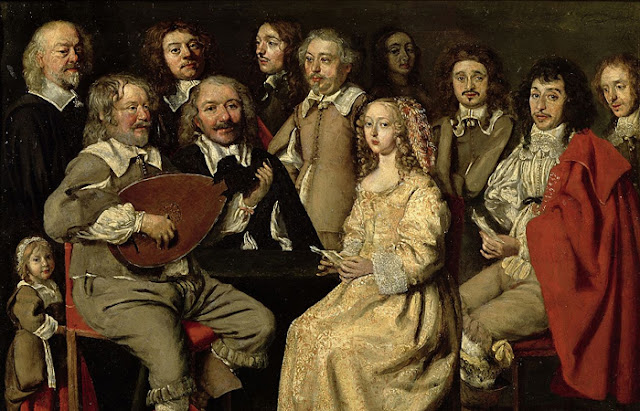 "Antoine Le Nain ""Encontro musical"""