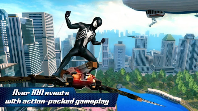 The Amazing Spider Man 2 MOD APK DATA [Unlimited Money]