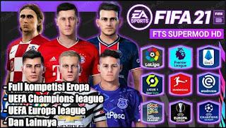 FTS MOD FIFA 21 Full Eropa Best Graphics HD