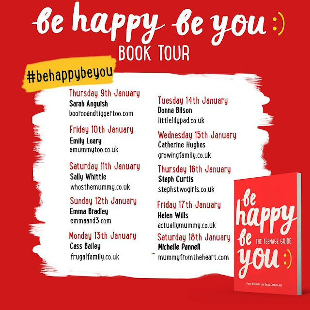 be happy be you book tour