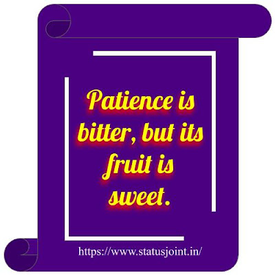 Status About Patience