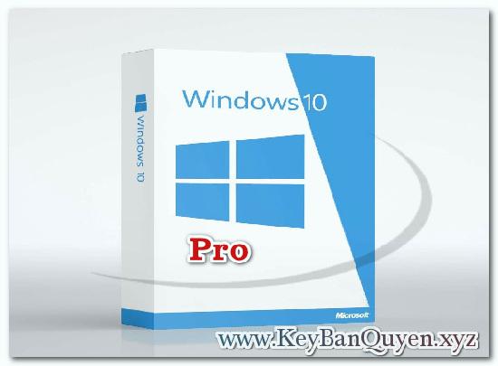 Mua bán key Windows 10 Pro bản quyền Full 32 và 64 Bit