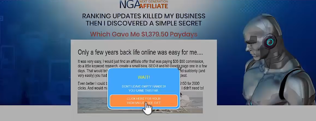 easy pro funnels next generation affiliate page
