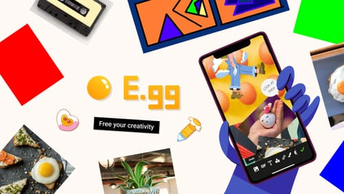 E.gg .. a platform for free creative expression from Facebook