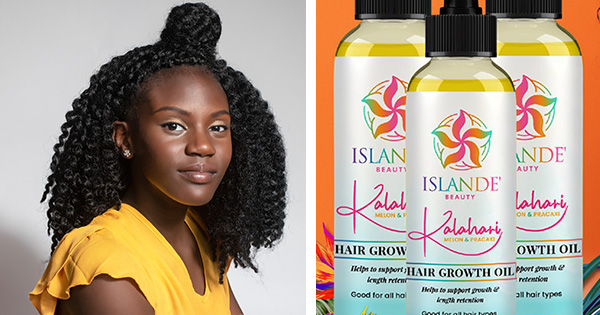 Meet Zhanyia McCullough, founder and CEO of Islande Beauty