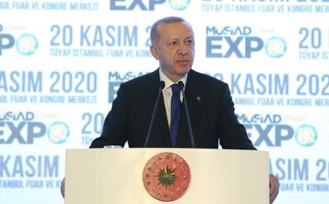 أردوغان: سنحشد رواد الأعمال الأتراك والأجانب لتسريع الاستثمار
