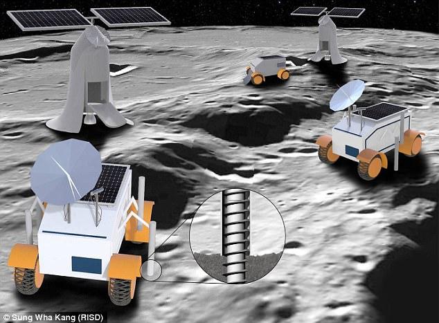 mining of moon