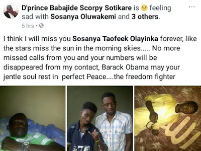 Photos: 28-year-old man stabbed to death at his friend?s apartment in Lagos