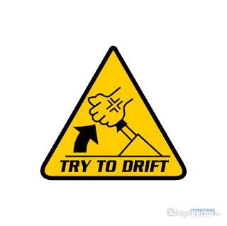 Try To Drift JDM Logo vector (.cdr)