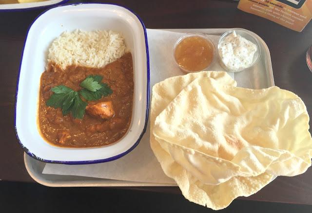 chicken tikka main meal at sizzling pub the anson wallsend
