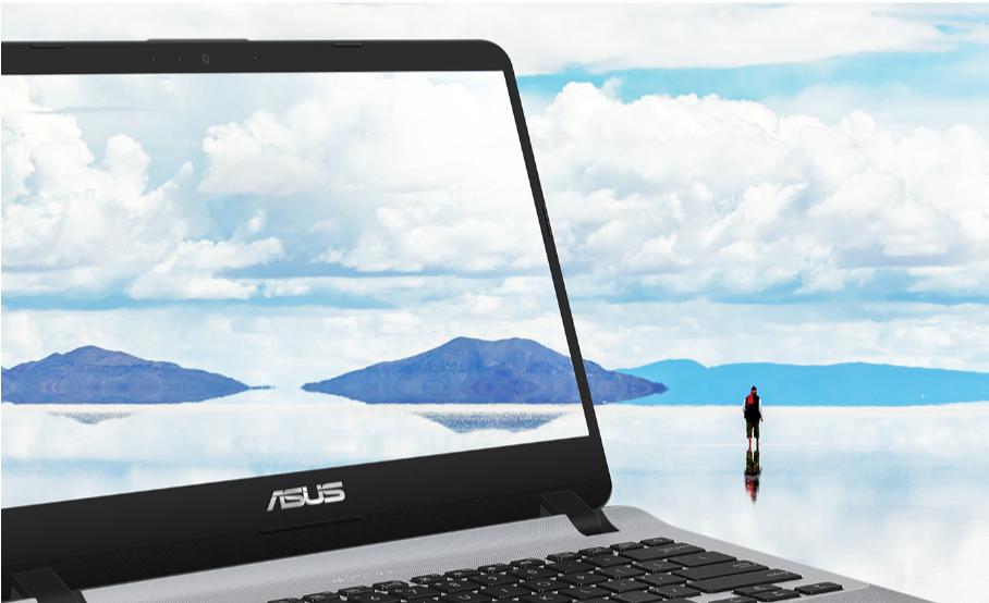 Laptop ini disertau dengan NanoEdge Display dengan fitur kekiniannya