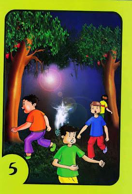 قصص اطفال PDF - حكايات جدتي - الأصدقاء والغول بالعربية والإنجليزية