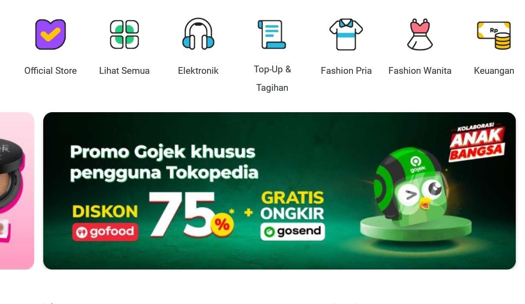 Cara Pakai Diskon GoFood 75% di TokoPedia dan Belanja di GoJek (Promo)
