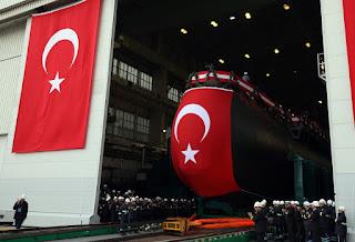 Kapal Selam Kelas Type 214 Pertama Turki