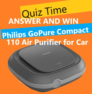 amazon philips car air puriefier quiz time answer