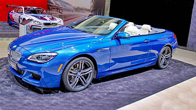 BMW 6 Series Convertible Shows Detroit