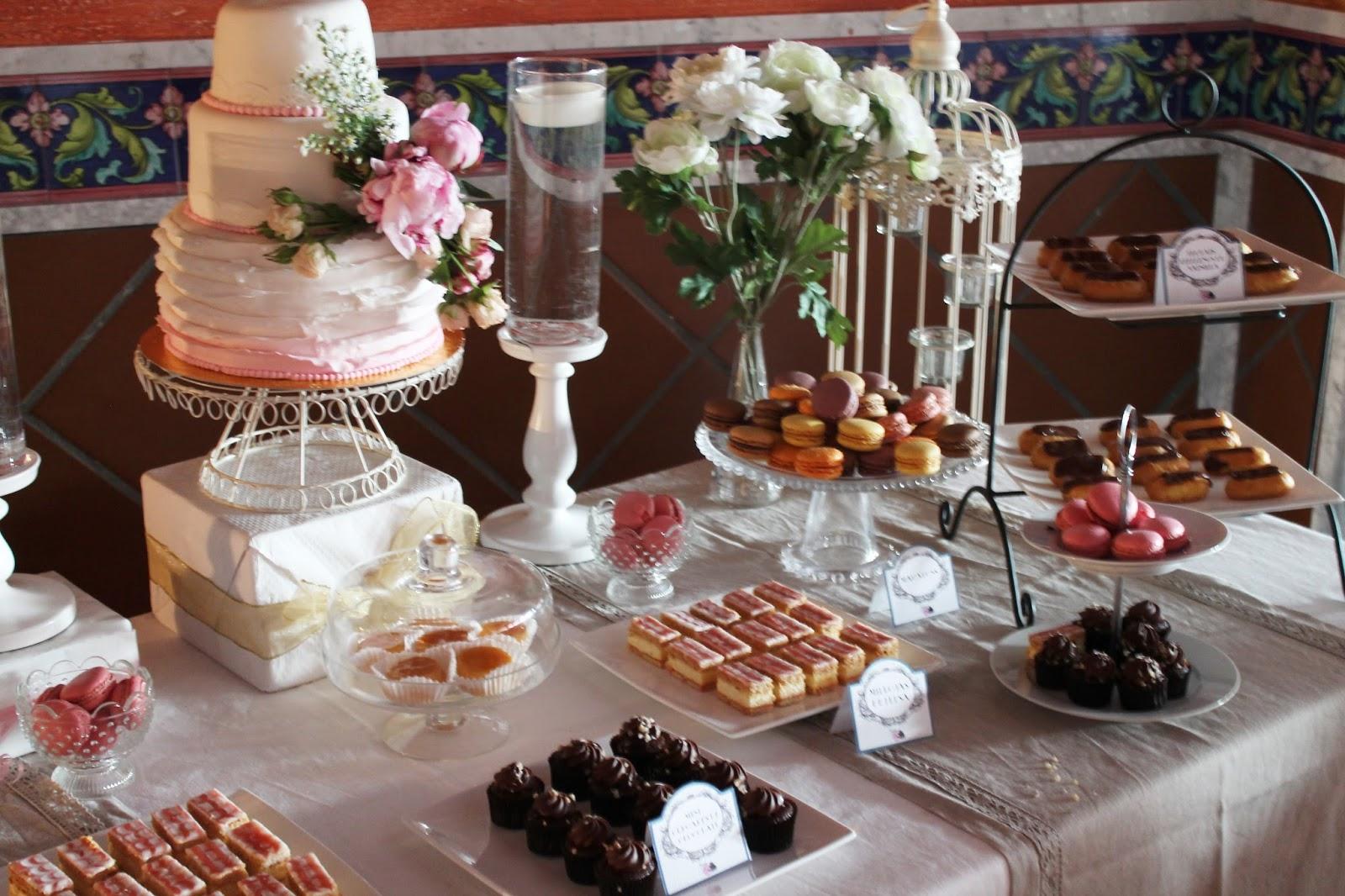 Tarta chic for Decoracion para mesa dulce