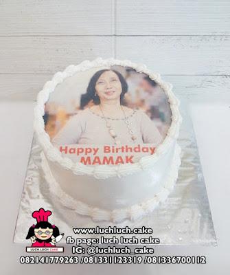 Kue Trat Edible Foto Untuk Ibu dan Ayah