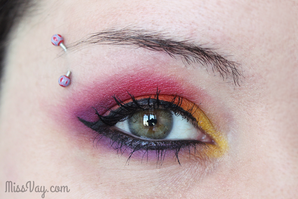 Sugarpill Cosmetics Miss Vay maquillage makeup