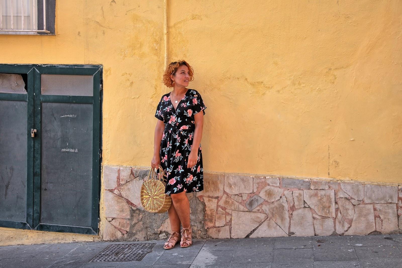look-estival-robe-fleurie-promod-procida
