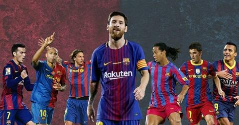 Ở La Liga, Lionel Messi chính là 1 đấng tối cao.