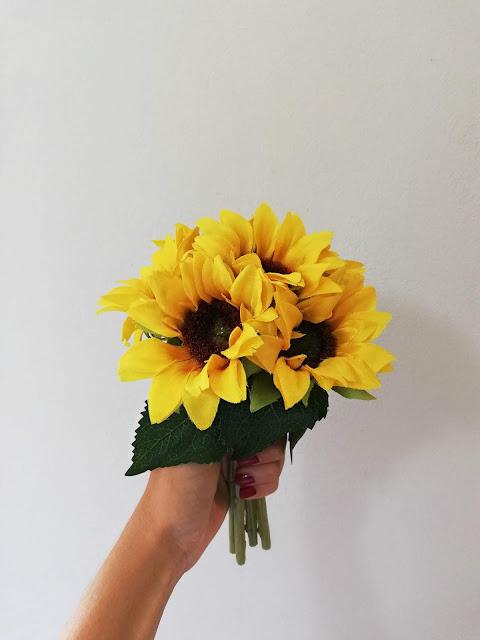 flowers, cvijeće, suncokret, sunflower, yellow, decor, dekor, dekoracija, artifficial, umjetno cvijeće,