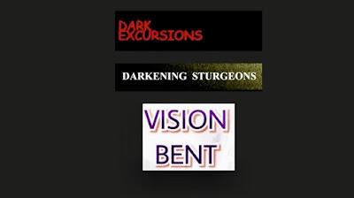 Dark Excursions, darkening sturgeons, vision bent