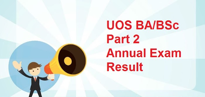 UOS BA/BSc Part 2 Annual Exam Result 2018 Announced - Sargodha University Results