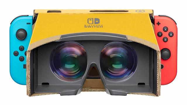 أوضاع Labo VR لـ Breath of the Wild