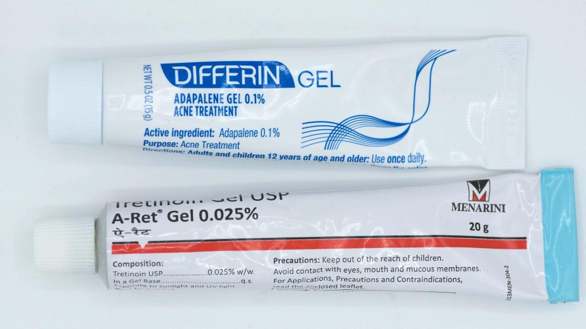 Differin và Tretinoin - Cái nào mới tốt hơn?